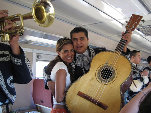 Listen to the friendly Mariachi Band