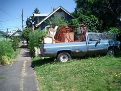 02. Junk truck.