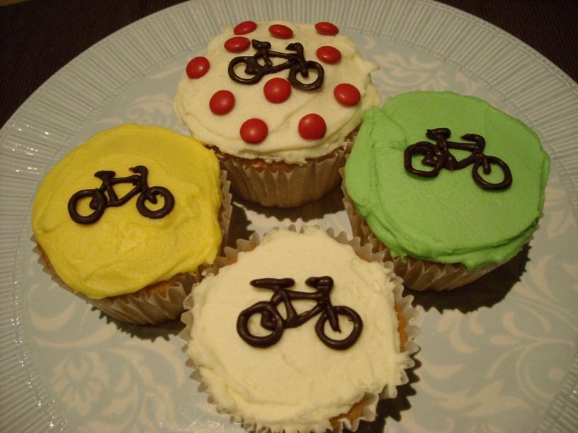 Tour cupcakes