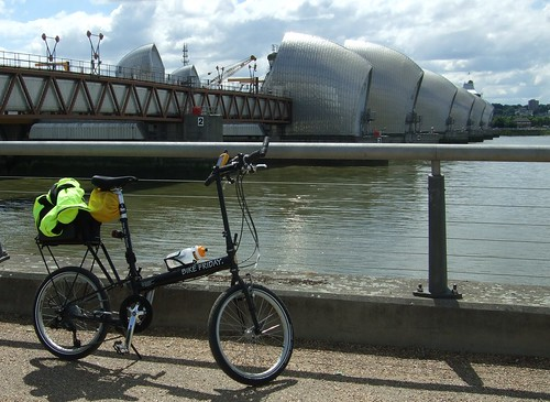 My New Bike and the Thames Barrier
