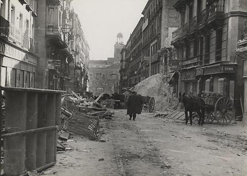 Calle Preciados en la Guerra Civil