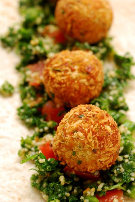 zucchini falafel©