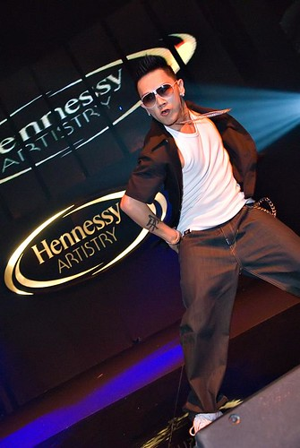 Don P from Machi at Hennessy Artistry