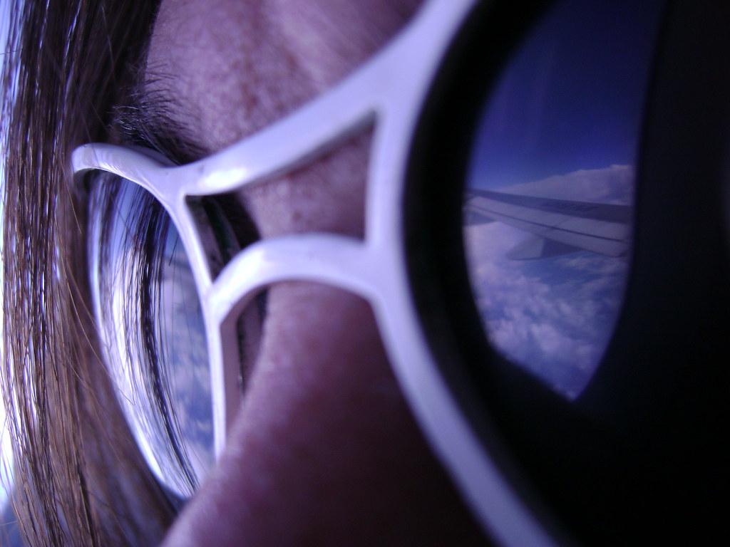 Blue Sky on My Eyes