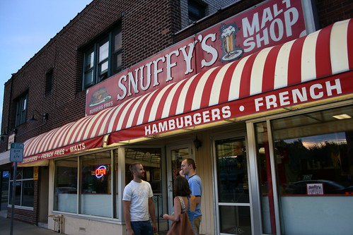 Outside Snuffy's