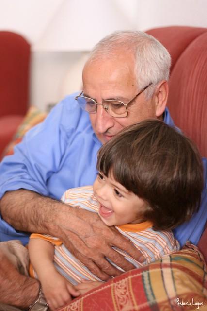 Bienvenido, abuelo! / Welcome, grandfather!