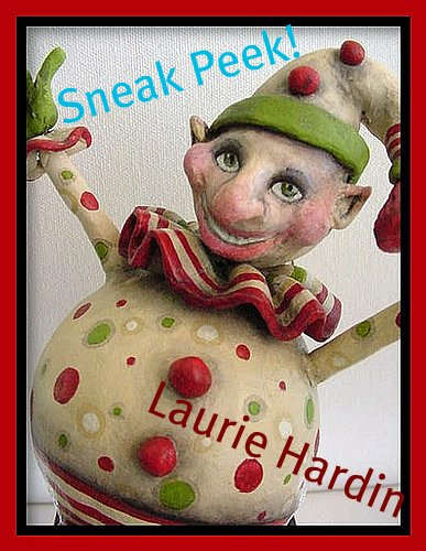 Laurie Hardin elf sneak peek