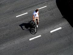 Cyclist Street
