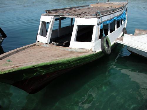 Boat Bungin Island Sumbawa