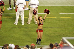 PreseasonBucsVsPats-0059 (awinner) Tags: game football cheerleaders stadium nfl cheerleader 2008 raymondjamesstadium preseason tampaflorida tampabaybuccaneers newenglandpatriots august2008 august17th2008