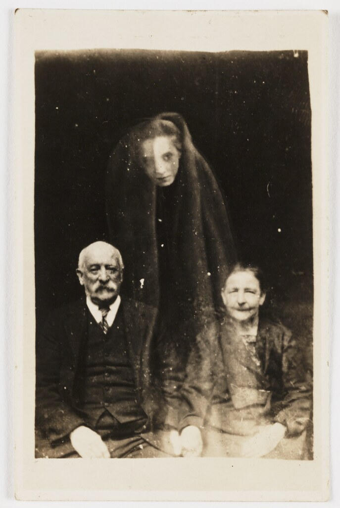 old ghost family photo
