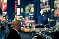it must be bokeh night down there (_silent) Tags: nyc newyork night timessquare limodriver smcpfa50mmf14 sbrilluccichii audicecoshastafotodibello pallottediluce vendomercedes bokehway