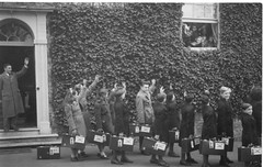 Australian Child Migrants leaving Alverstoke 1950