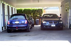 2006 525i 2005 MINI Cooper S