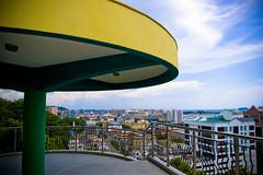 Signal Hill Observatory Platform ,Kota Kinabalu, Sabah, Malaysia (cabreney.jm) Tags: yellow platform observatory malaysia borneo kotakinabalu 1855mm sabah kota kk signalhill kinabalu bukitbendera d40 observatoryplatform cabjm signalhillobservatoryplatform