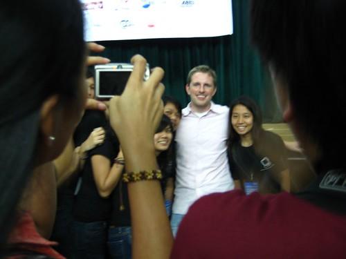 Matt and his fans
