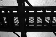 unter der eisenbahnbruecke (loop_oh) Tags: railroad bridge holland netherlands amsterdam train track nederland eisenbahn rail railway rails bahn nederlands niederlande gleis bruecke
