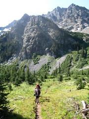 Ice Creek Trail (tennessee treader) Tags: lake ice loop larch
