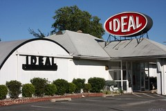 IDEAL (Harpo42) Tags: sign retail store clothing nj hut prom dresses local ideal tradition atlanticcounty southjersey route30 hammonton whitehorsepike