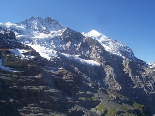 The Jungfrau in view again
