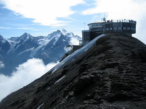 Piz Gloria y Jungfrau