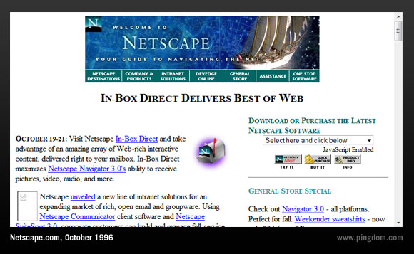 netscape browser for windows 10