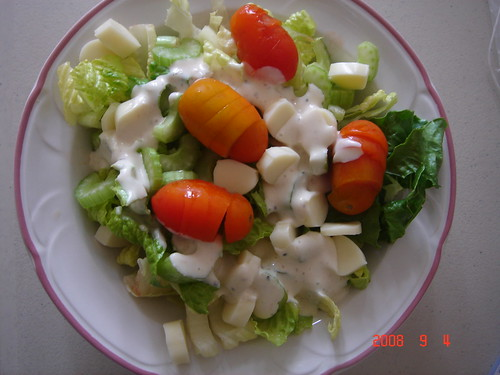 mozarella cheese salad