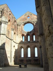 abbazia di san galgano (ilflickrdimarco / Marco) Tags: italy italia siena toscana tp middleages medioevo abbaziadisangalgano bellitalia tuscanyseptember2008