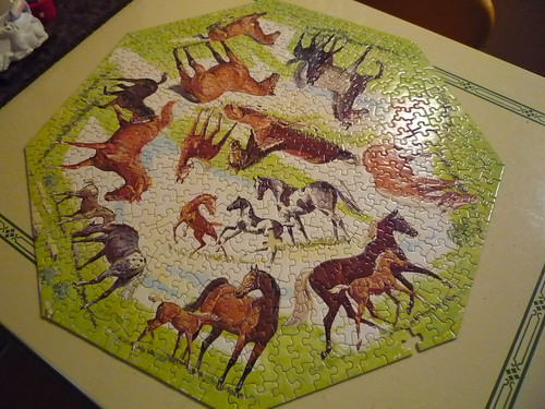 mares and foals puzzle