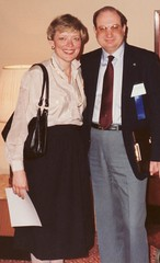 With Mary Novotny President of the Amputee Coalition of America. (Photographer Al Pike) Tags: minnesota plane germany flying littlefalls spain russia moscow aircraft sac b17 playboy airforce aviator amputee prosthetics ottobock