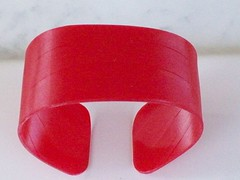 vinyl cuffs-red (napa farmhouse 1885) Tags: for please visit full product description wwwnapafarmhouse1885com