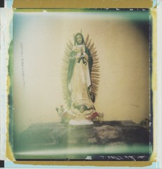 (r.yen) Tags: church mexico polaroid holga catholic mary virgin guadalupe holgaroid expired polga type89