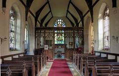 St Nicholas church Landwade Suffolk