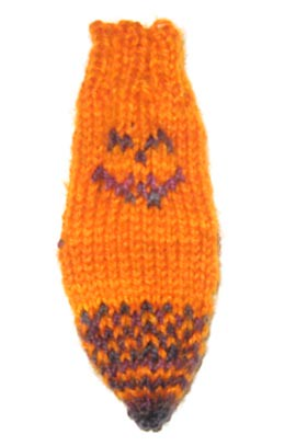 wee pumpkin sock