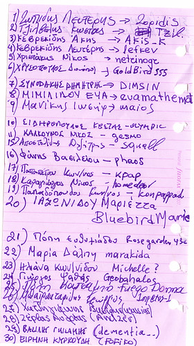Salonica meeting names.....
