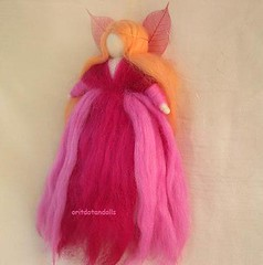 Fairy- birthday and holidays needle felted blessing wool fairy made of hand painted merino wool and natural merino wool (orit dotan) Tags: birthday wool angel felted holidays hand natural handmade painted merino blessing made artdolls fairy needle handpainted handcrafted fibers fairytales softsculpture needlefelt   naturalmaterials naturalkids     nadelfilzen oritdotandolls fairyfairies      nfestteam