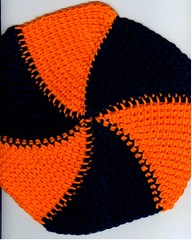 orange and black finished