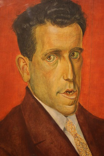 "Otto Dix, ""Portrait of the Lawyer Hugo Simons"", 1929"