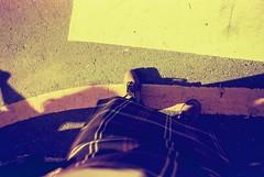 Ivan with the KILT!!! (lovelyivan) Tags: people film canon scenery asia kilt ivan taiwan 135 tainan 台灣 台南 風景 kodaksupra400 c41 亞洲 ef1740f40l redscale eos10qd tainanimagesmeetup 反轉底片