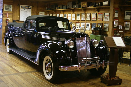 1938 Packard Model 886 Packard Eight Commercial Chassis, Henney Packard Flower Car