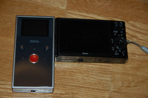 Flip Mino with Nikon S50