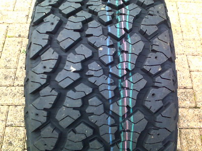 VW Touareg Off Road 18ins Tyres