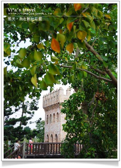 【台中新社旅遊景點】新社古堡花園~台中新社古堡花園歐式古堡風情新社古堡花園