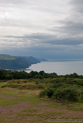 View from the Hill - Minehead