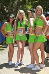 Indy Promo Girls (Peter Hegarty) Tags: car race gold coast nikon indy australia qld 300 2008
