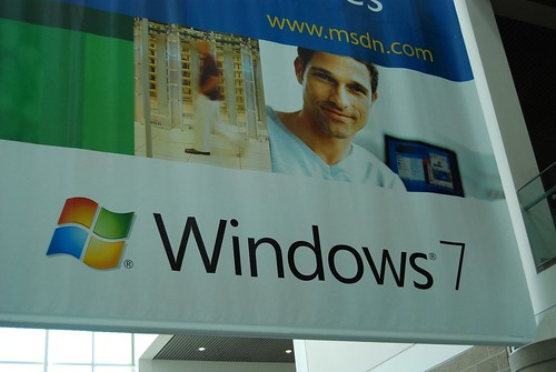 Windows 7 advertising