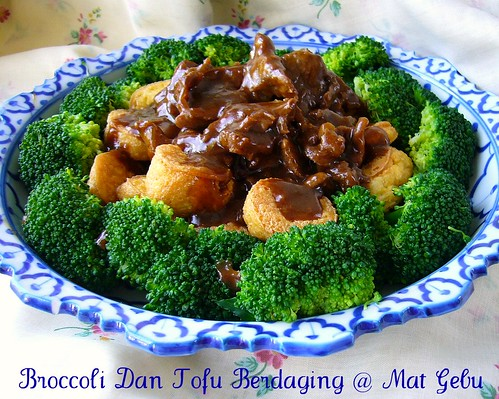 Broccoli Dan Tofu Berdaging