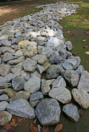 """Riverbed  cross the riverbed"" by Yoko Ono - 5"