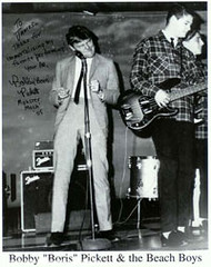 "Bobby ""Boris"" Pickett performing the Monster Mash for the first time"