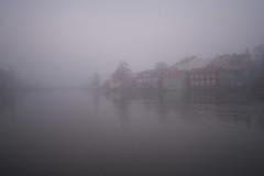 A19372 (davidnaylor83) Tags: house mist water fog river sweden  sverige vatten dis hus eskilstuna dimma eskilstunan sdermanland gamlastaden